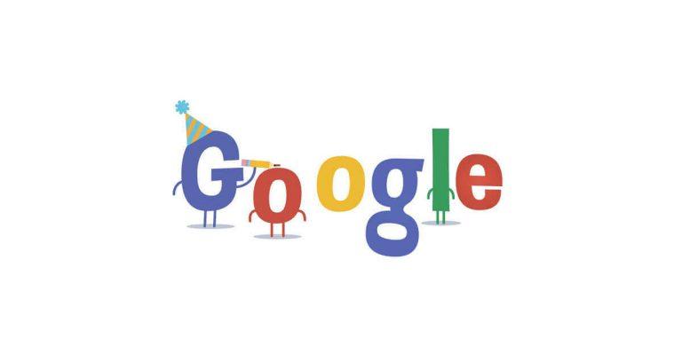 Googles födelsedag!